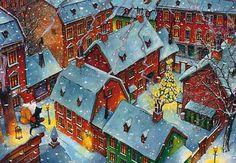 Картинки по запросу новый год живопись