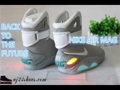 2f1f632dc0373 Back to the Future Light Up Air Mag Shoes Review
