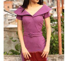 AIMEE wiggle potlood jurk aangepaste gemaakte 50s stijl