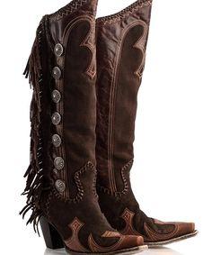 ❦ Vaquero Fringe Boot