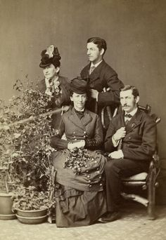 Frances, Franklin, Mary and J. Arthur Beebe.