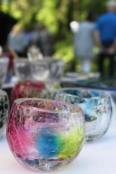Crackle by master glassblower Kari Alakoski.