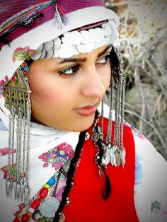 Iran | Woman in traditional dress from the North Khorasan Province | Photographer unknown, via Mehr News Agency