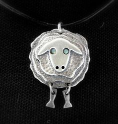 Sterling Silver Sheep: