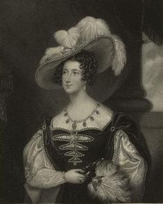 Anna Russell née Stanhope (1783-1857), Duchess of Bedford. Married to Francis 7th Duke