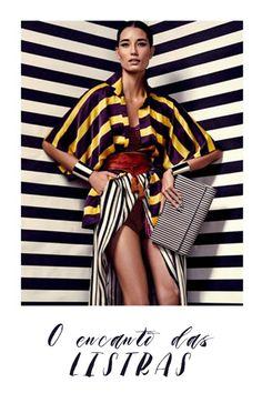 Na moda as tendências vão e voltam sempre, mas se tem uma trend que é atemporal é o listrado. Confira o encanto das listras.