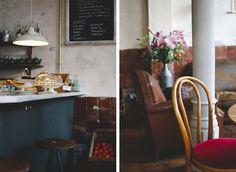 Granja Petitbo, Barcelona. Preciosa cafeteria ideal para brunch los fines de semana y para merendar entre semana.