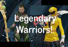 power rangers legacy wars legendary warriors