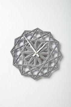 Stella Clock #anthropologie