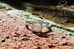 Sometimes you just need a little extra sparkle in the day! #diamond #engagment #SandersJewelers #gainesville #halo #ring