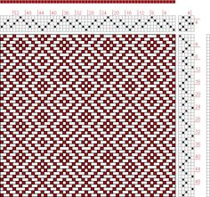 Hand Weaving Draft: Page 127, Figure 10, Donat, Franz Large Book of Textile Patterns, 5S, 5T - Handweaving.net Hand Weaving and Draft Archive