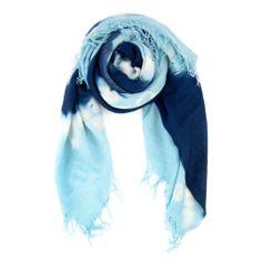 Chan Luu Cashmere and Silk Tie Dye Large Scarf Diamond Pattern   eBay