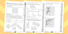 Year 4 Maths Assessment: Geometry - Properties of Shapes Term 3