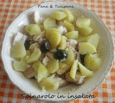 Spinarolo in insalata A voi la scelta: antipasto o secondo! #Spinarolo in #insalata, gustoso, fresco ma sopratutto prezioso per il nostro organismo. http://blog.cookaround.com/vincenzina52/spinarolo-in-insalata/
