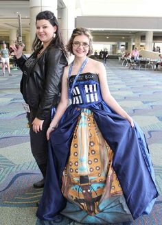 Human!Impala from Supernatural and a TARDIS from Doctor Who | 36 Delightfully Geeky Cosplays From LeakyCon
