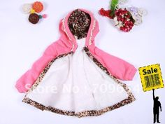 infant girl outerwear pink-white