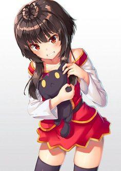 konosuba megumin by Pentaless on DeviantArt Konosuba Anime, Comics Anime, Chica Anime Manga, Anime Art, Art Manga, Manga Drawing, Manga Girl, Megumin Explosion, Anime Sensual
