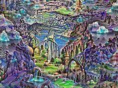 Картины, которые нарисовал искусственный интеллект, созданный Google • Фактрум