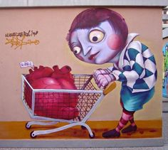 Street art and paintings by zed1