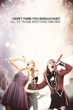 THIS. IS. ABSOLUTELY. PERFECT!!! Speak Now Era with the RED Era <3