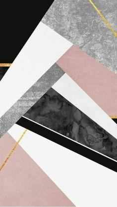 rnrnSource by katebastet Marble Iphone Wallpaper, Rose Gold Wallpaper, Geometric Wallpaper, Pastel Wallpaper, Cute Wallpaper Backgrounds, Tumblr Wallpaper, Cellphone Wallpaper, Aesthetic Iphone Wallpaper, Geometric Art