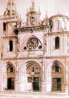 Así era la Catedral de Cuenca antes de la restauración de Lampérez y Romea…