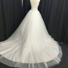 Style #67012 v-back wedding dresses
