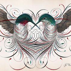 Humming a Love Song by Jake Weidmann   Jake Weidmann Artist and Master Penman