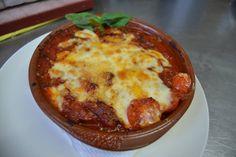 Conoceis nuestra Melanzane alla parmigliana??? Lasagna de berenjenas con la receta familiar de Giuseppe, no podeis perderosla!!!!