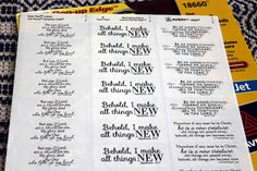 Little Birdie Blessings : Project Ideas with Labels & More