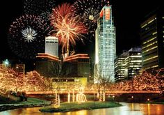 Holiday Lights Festival - Nov 24 - Dec 29 - Harney & Jackson Sts, Old Market Omaha