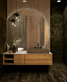 Washroom Design, Bathroom Design Luxury, Modern Bathroom Design, Modern Luxury Bathroom, Modern Design, Home Room Design, Interior Design Living Room, Interior Colors, Interior Plants