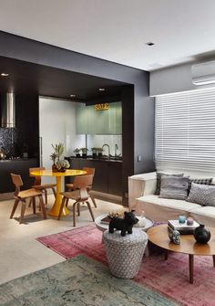 Un appartamento stile pop in Brasile