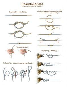6 of the Best Fly Fishing Knots for Beginners | Take Me Fishing