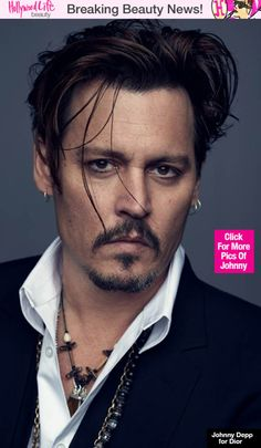 Johnny Depp is the face of Christian Dior's new men's fragrance... nice! ;)