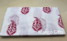 5 Yard Fabric Voile Cotton India Hand Block Print Handmade Floral Dress Material #Handmade
