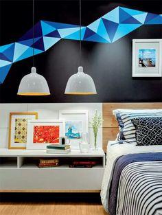 Unbelievably Creative DIY Home Decor Decor, Interior, Interior Spaces, Home Decor, House Interior, Bedroom Decor, Diy Room Divider, Bedroom Colors, Interior Design