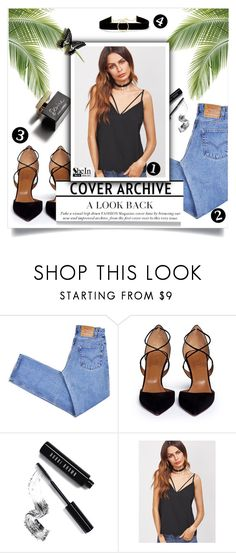"""""""Say what u need to say"""" by magi-418 ❤ liked on Polyvore featuring D&G, Levi's, Aquazzura, Bobbi Brown Cosmetics and Anissa Kermiche"""