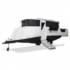 The Ultimate Nautilus, off-road camper