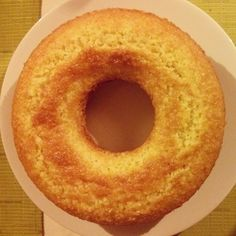 """Donut cake (Ciambella) baked by me. """"You'll never gain weight from a doughnut hole"""" (Tori Amos). Cake Boss Recipes, Cake Land, Birthday Cakes For Teens, Teen Birthday, Sweet Cooking, Pan Dulce, Bread Machine Recipes, English Food, Almond Cakes"""