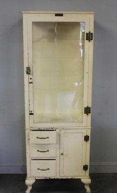 vintage medical cabinet for sale - Google Search