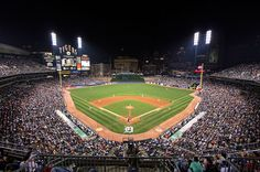 Comerica Park.  Home of the 2012 ALCS Champion Detroit Tigers.