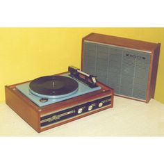 1970s record player turntable...might have something similar in prop stock