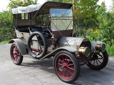 1909 Cartercar Model H Touring - (The Motor Car Co. & The Cartercar Co. Pontiac, Michigan 1906-1916)
