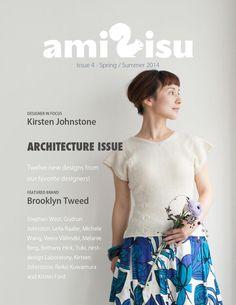 amirisu S/S 2014  amirisu - a bilingual online knitting magazine from Japan.  Issue 4- Spring / Summer 2014