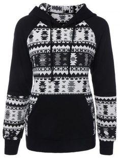 GET $50 NOW | Join RoseGal: Get YOUR $50 NOW!http://m.rosegal.com/sweatshirts-hoodies/geometric-pattern-front-pocket-hoodie-729260.html?seid=6825864rg729260