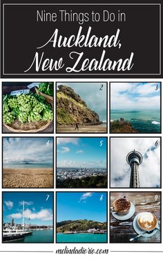 Nine Things to Do In Auckland, New Zealand. Who says you ever need to leave the North Island?