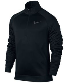 NIKE Nike Men's Therma Quarter-Zip Fleece Training Top. #nike #cloth # activewear