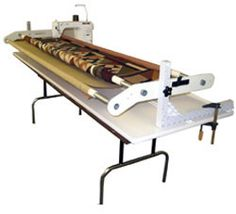 22 Best Diy Quilting Frame With Machine Images Machine Quilting