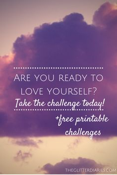 Are you ready to start loving yourself? Join our Love Yourself Challenge today! Packed with inspirational quotes, insight and printable challenges, this is the perfect way to jumpstart your self-love journey!